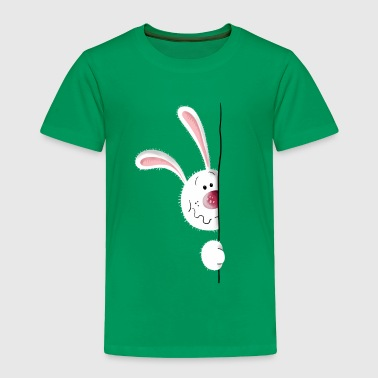 Little white rabbit - Bunny - Cartoon - Gift - Toddler Premium T-Shirt