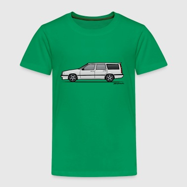 Volvo V70 T5 Wagon White - Toddler Premium T-Shirt