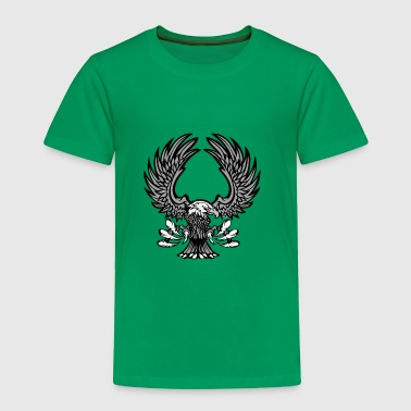 Eagle With Wings And Claws Mascot Logo - Toddler Premium T-Shirt