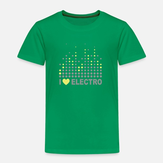 Swing Baby Clothing - Electro - Toddler Premium T-Shirt kelly green