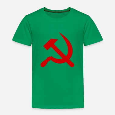 Communist Communism hammer and sickle - Toddler Premium T-Shirt