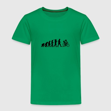 Evolution of a Cyclist - Toddler Premium T-Shirt