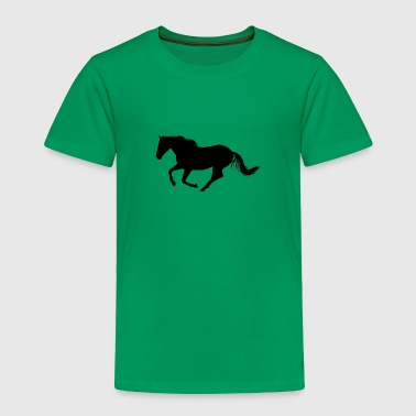 Horse is running - Toddler Premium T-Shirt