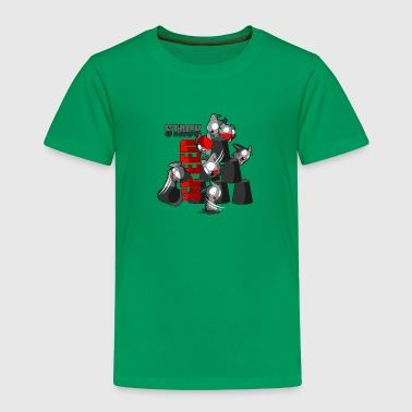 The speed stack Bunny - Toddler Premium T-Shirt