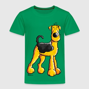Sweet Airedale Terrier - Toddler Premium T-Shirt