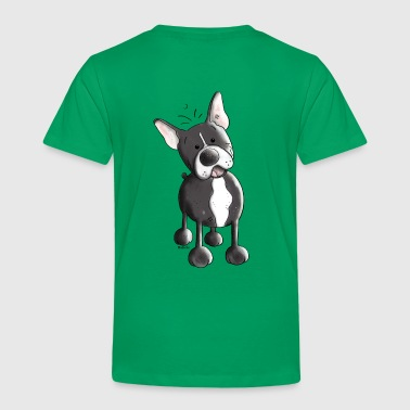 Happy French Bulldog - Dog - Dogs - Toddler Premium T-Shirt