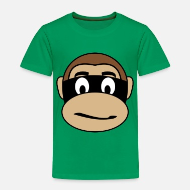 Burglar Burglar Monkey - Toddler Premium T-Shirt