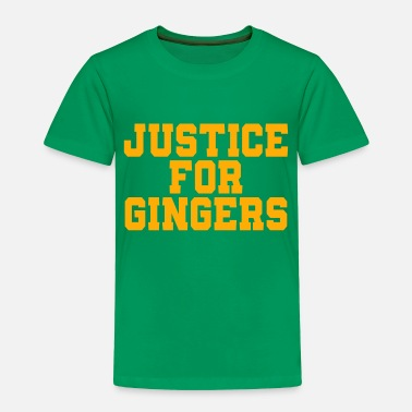 6bf1c1e9e6 Justice Justice For Ginger - Toddler Premium T-Shirt