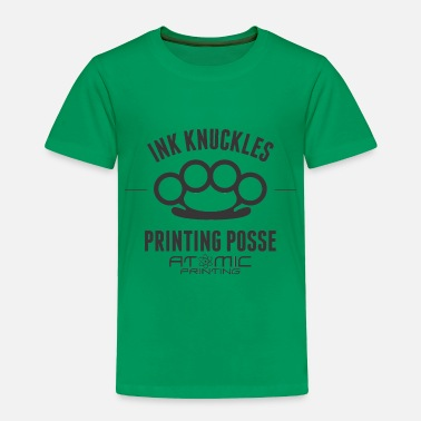 Brass Ink Knuckles - Toddler Premium T-Shirt