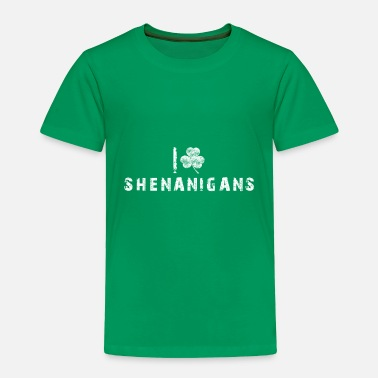 Sans Gift Happy st patricks day leprechaun shenanigans - Toddler Premium T-Shirt
