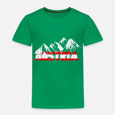 Austria Austria and mountains - Toddler Premium T-Shirt