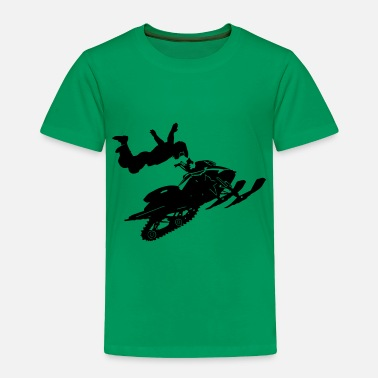 Snowmobile Snowmobil - Toddler Premium T-Shirt