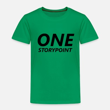 Master One Storypoint - Scrum Shirt - Toddler Premium T-Shirt