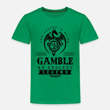 Gambling GAMBLE - Toddler Premium T-Shirt