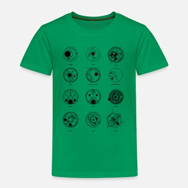 Dr Gallifreyan Dr Who - Toddler Premium T-Shirt