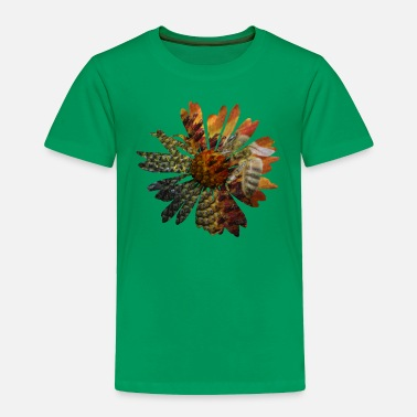 Picture Picture in picture - a daisy flower with a bee - Toddler Premium T-Shirt