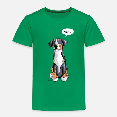Swiss Play Greater Swiss Mountain Dog - Gift - Dogs - Toddler Premium T-Shirt