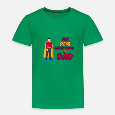 Superheroes super dad 45 F - Toddler Premium T-Shirt