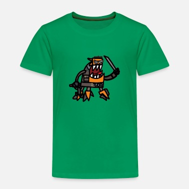 Geek Spinza as tank Dempsey - Toddler Premium T-Shirt