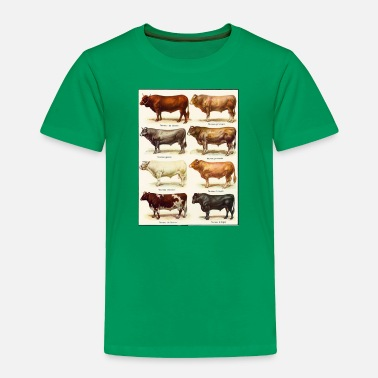 Beef Beef Cattle Breeds - Toddler Premium T-Shirt