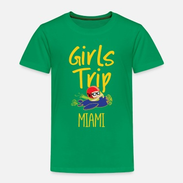 Weekend Girls Trip Holidays Vacation Miami Trip - Toddler Premium T-Shirt