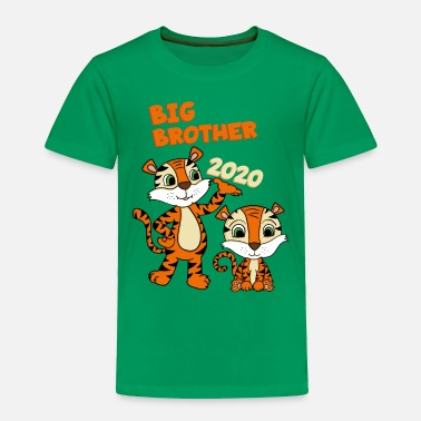Tiger Pony Big Brother 2020 Shirt Tiger - Toddler Premium T-Shirt