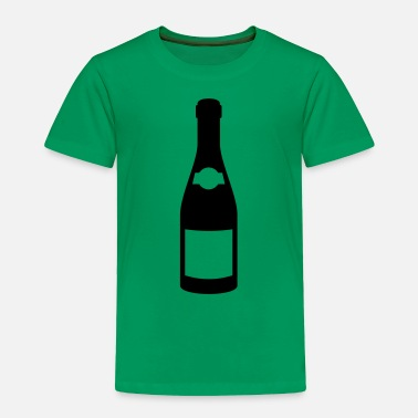Champagne Bottles Champagne bottle - Toddler Premium T-Shirt