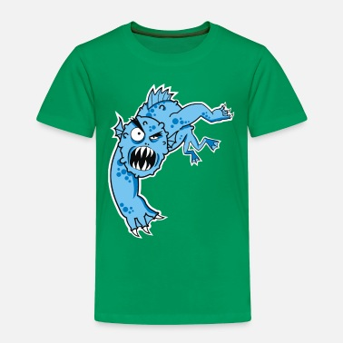 Monster Truck sea monster - Toddler Premium T-Shirt