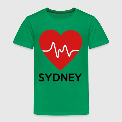 Heart Sydney - Toddler Premium T-Shirt