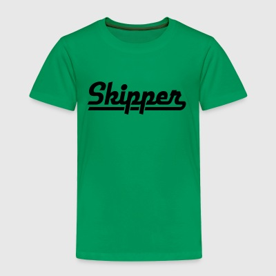 skipper - Toddler Premium T-Shirt