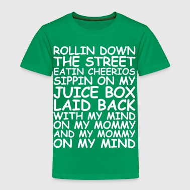 Rollin Down The Street - Toddler Premium T-Shirt