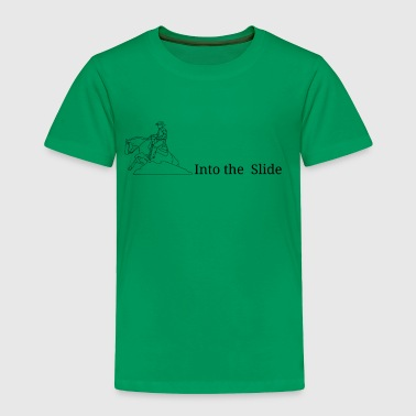 Into the slide black logo - Toddler Premium T-Shirt