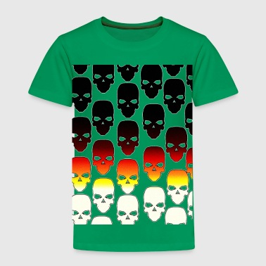 skulls - Toddler Premium T-Shirt