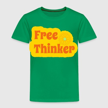 Free Thinker - Toddler Premium T-Shirt