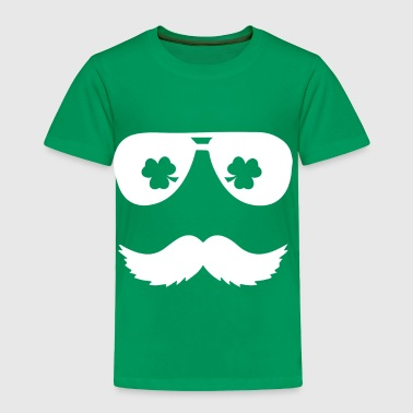 Irish Mustache - Toddler Premium T-Shirt