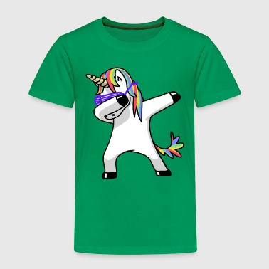 dabbing unicorn - Toddler Premium T-Shirt