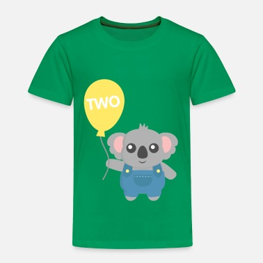 Bears Balloon Koala Bear with balloon - Toddler Premium T-Shirt