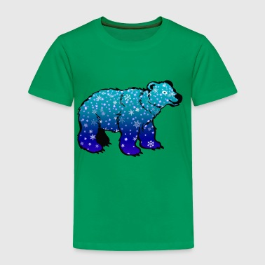 Polar Bear Snow - Toddler Premium T-Shirt