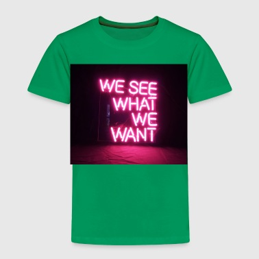 Neon light - Toddler Premium T-Shirt