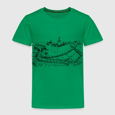 medieval city - Toddler Premium T-Shirt