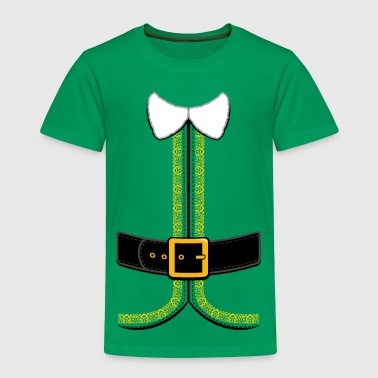 Christmas Elf Costume for Kids and Adults - Toddler Premium T-Shirt