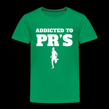 Addicted To Personal Records Running - Toddler Premium T-Shirt