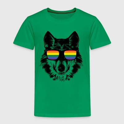 LGBT shirts - Wolf gay t shirt - Toddler Premium T-Shirt