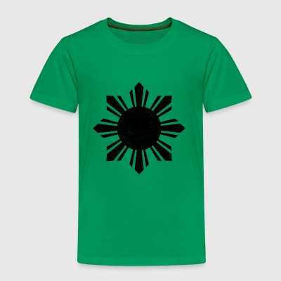 Black Flag Philippines Sun - Toddler Premium T-Shirt