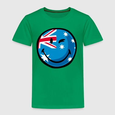 SmileyWorld Australian Flag - Toddler Premium T-Shirt