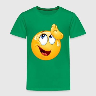 wiping sweat emoticon - Toddler Premium T-Shirt