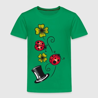 Silvester. Traditional german lucky charm symbols - Toddler Premium T-Shirt