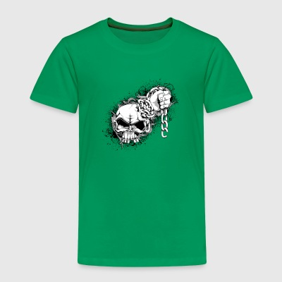 skull and chains - Toddler Premium T-Shirt