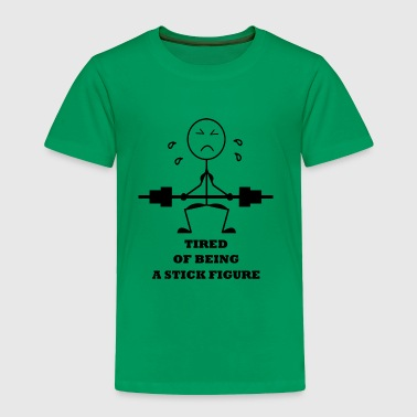 STICK FIGURE - Toddler Premium T-Shirt