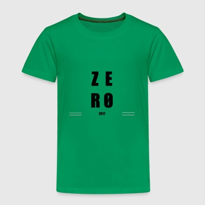 ZERO - Toddler Premium T-Shirt